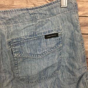 Sanctuary Shorts - Sanctuary Denim Drawstring Shorts